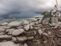 The iconic rocks that makes Belitung so famous